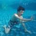水の中でかめはめ波を出す日本人