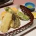 旬の野菜を使った天ぷら料理